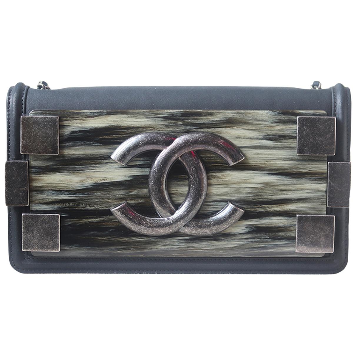 Chanel Boy Handtasche in  Bunt Leder