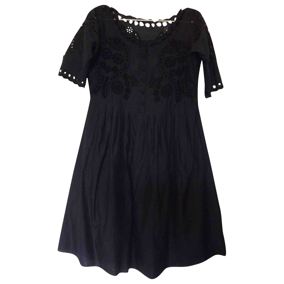 Twin Set \N Black Cotton dress for Women M International