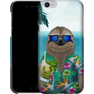 Apple iPhone 6s Plus Smartphone Huelle - Summer Sloth Drinking Mojito von Barruf
