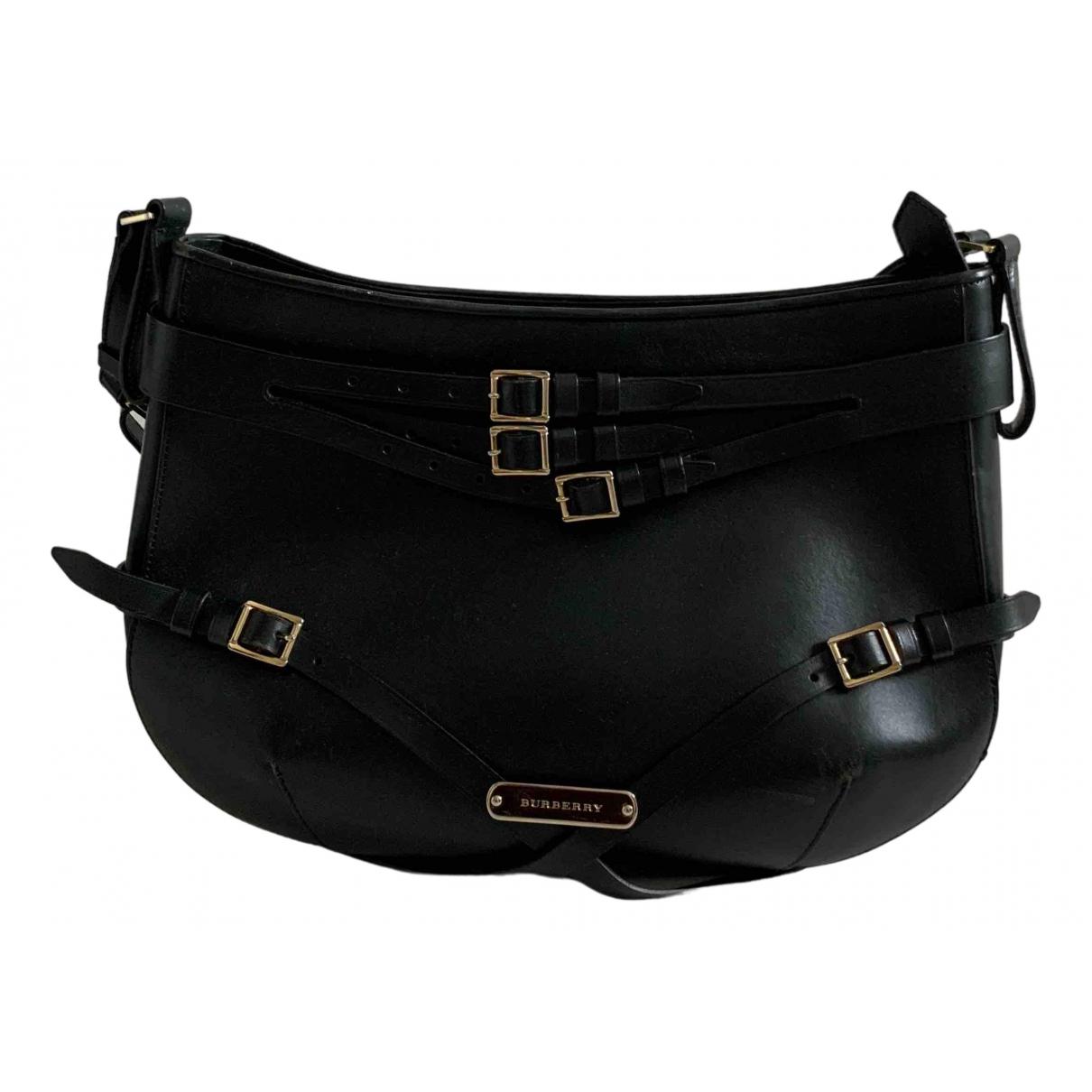 Burberry \N Green Leather handbag for Women \N