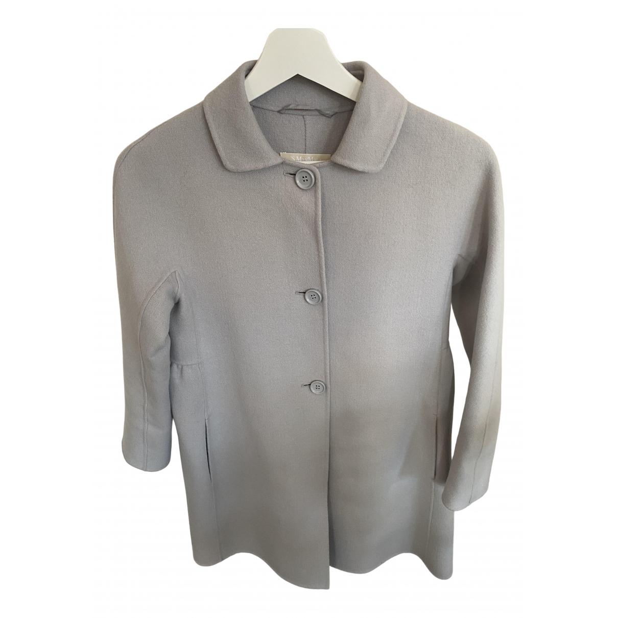 Max Mara 's \N Grey Wool jacket for Women 6 UK