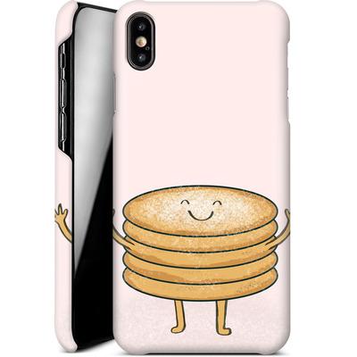 Apple iPhone XS Max Smartphone Huelle - Pancake-man with Sugar von caseable Designs