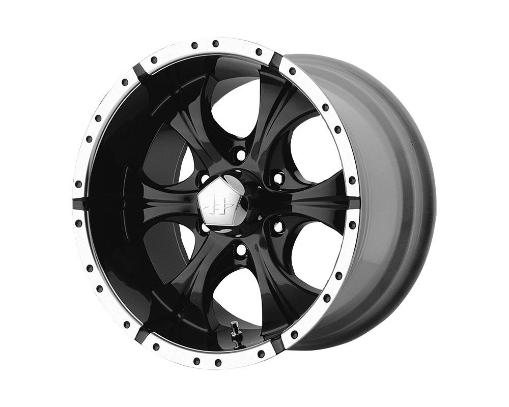 Helo HE791 Maxx Wheel 17x9 6x6x139.7 +18mm Gloss Black Machined