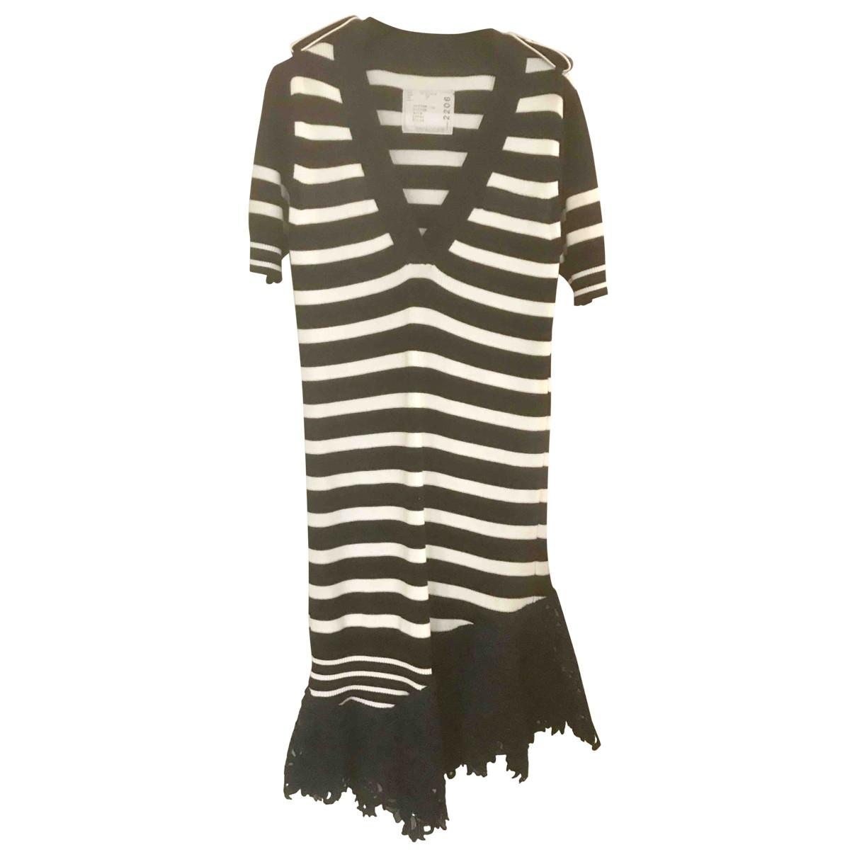 Sacai \N Blue Cotton dress for Women 2 US