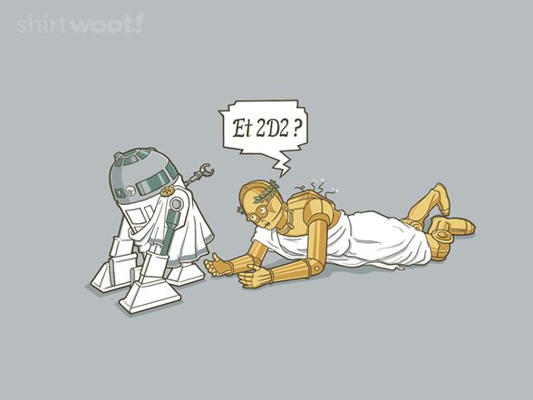 Et 2d2 T Shirt