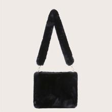 Fluffy Shoulder Bag