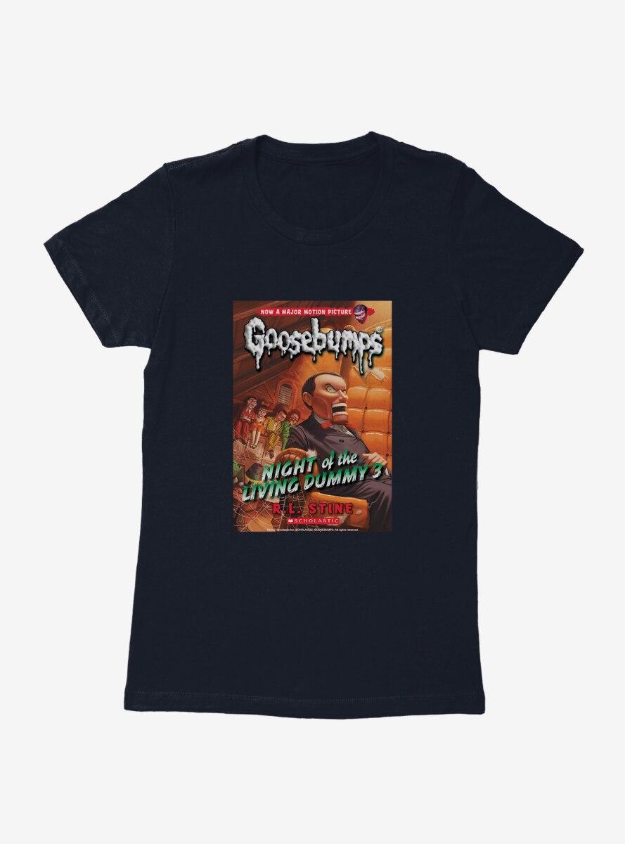 Goosebumps Night Of The Living Dummy 3 Book Womens T-Shirt