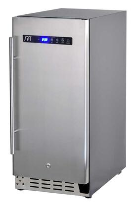 BF-314U Beverage Center with 2.9 cu. ft. Capacity  Digital Controls  Quiet Operation  Soft Interior Lighting  Lock  in Stainless