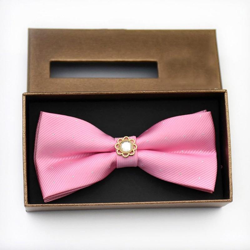 Ericdress Polka Diamante Bow Tie