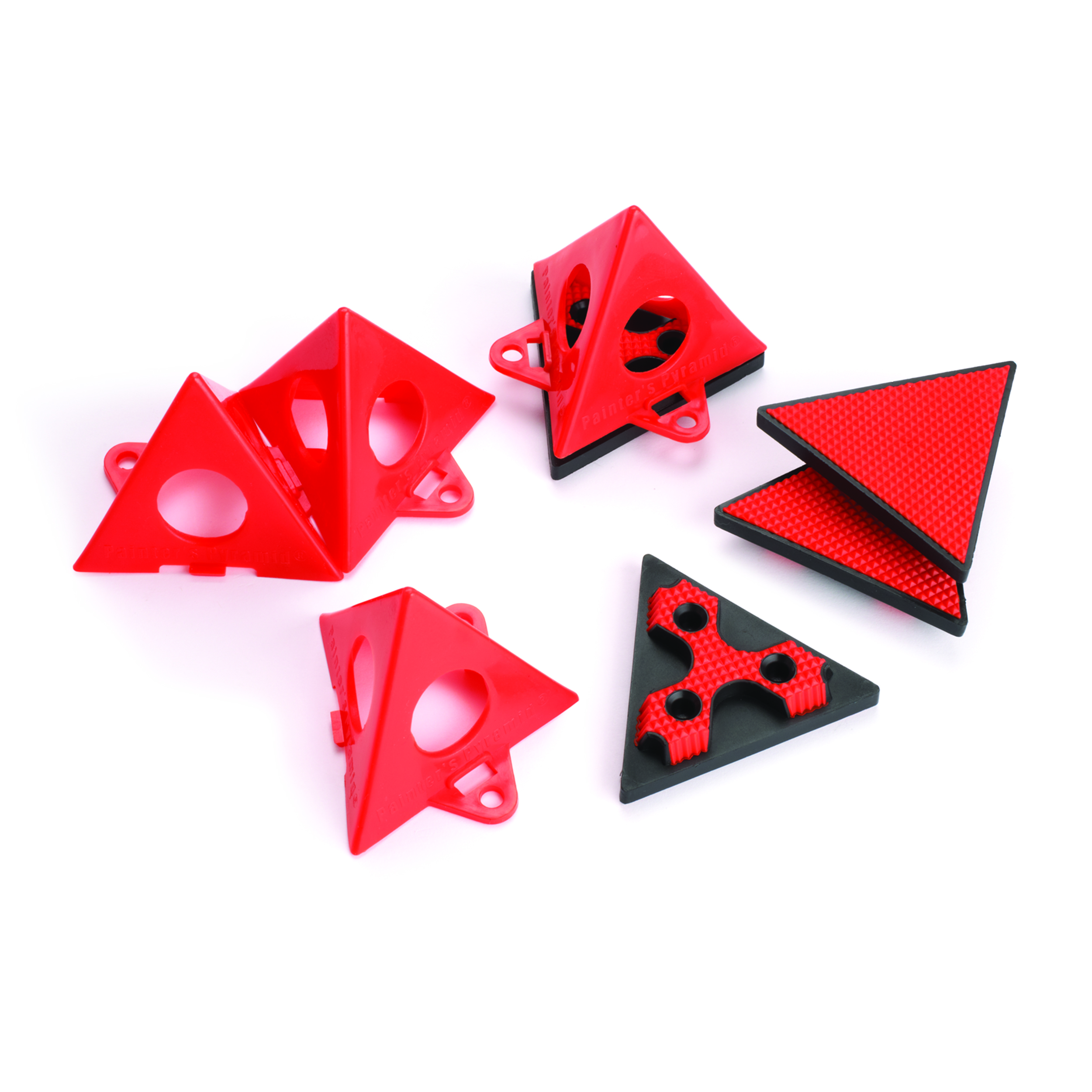 Pyramid Painters Pyramids and Grabbers 4 pc