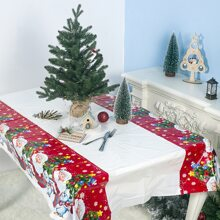 Christmas Cartoon Graphic Tablecloth