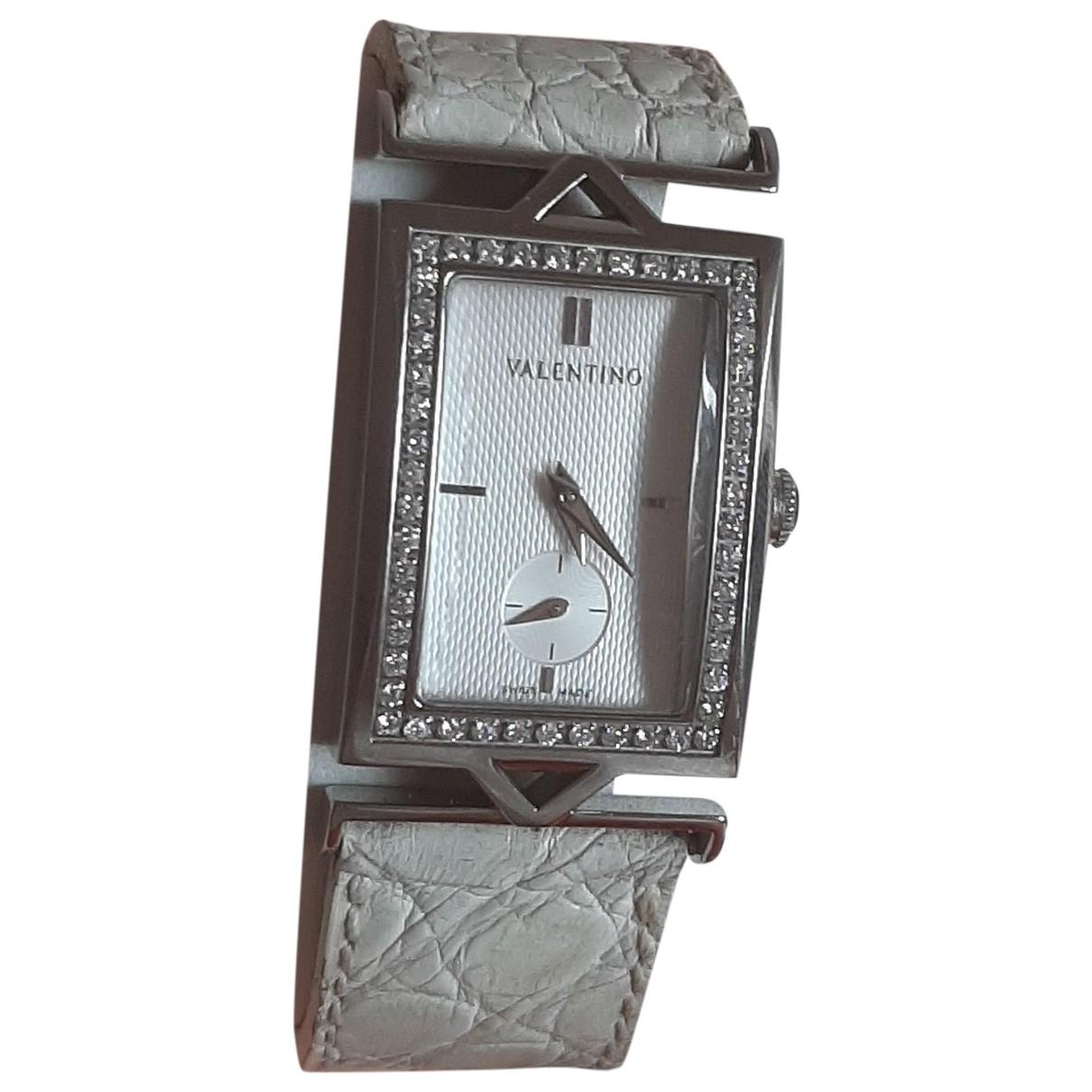Valentino Garavani \N Uhr in  Weiss Stahl