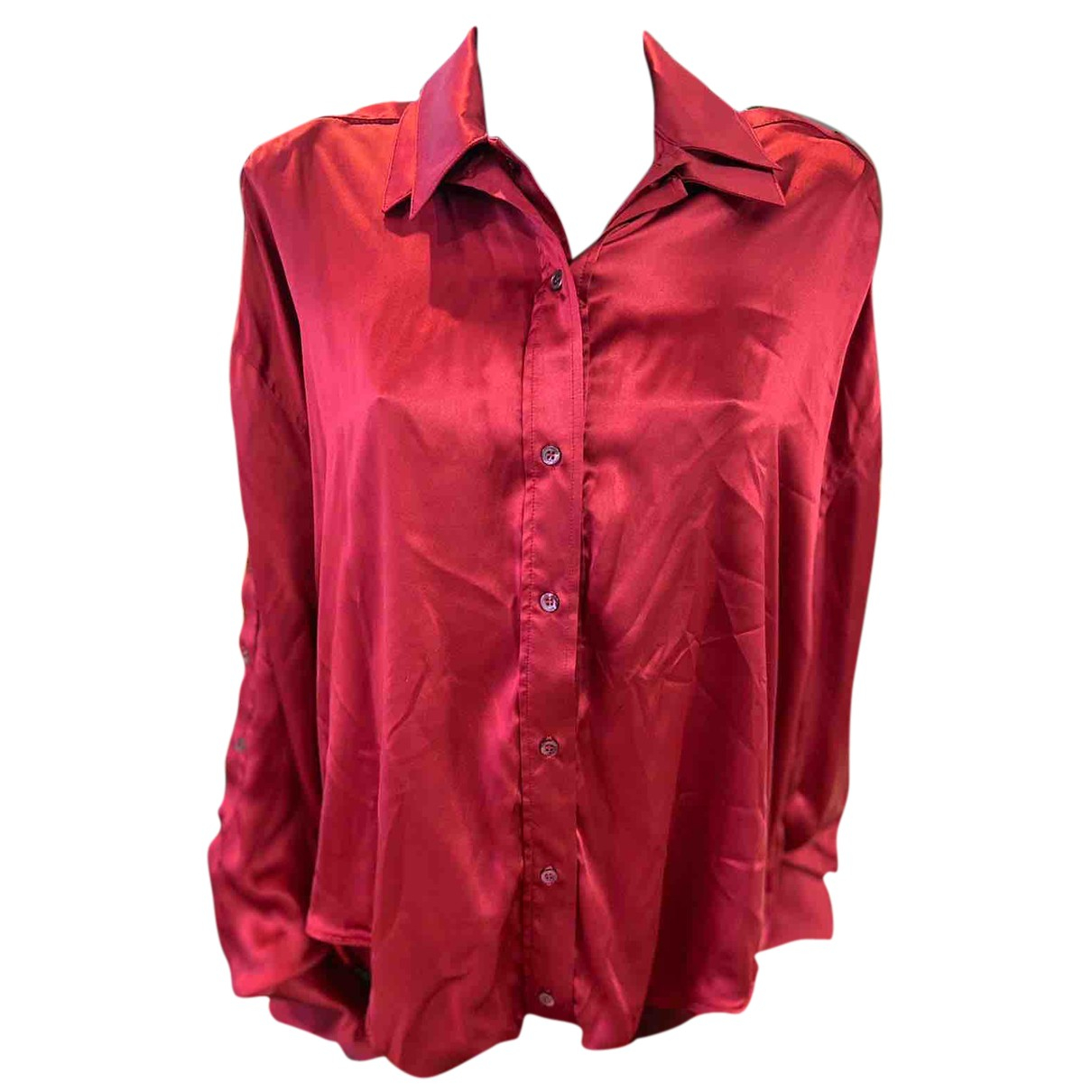 Y/project N Red Silk  top for Women XS International