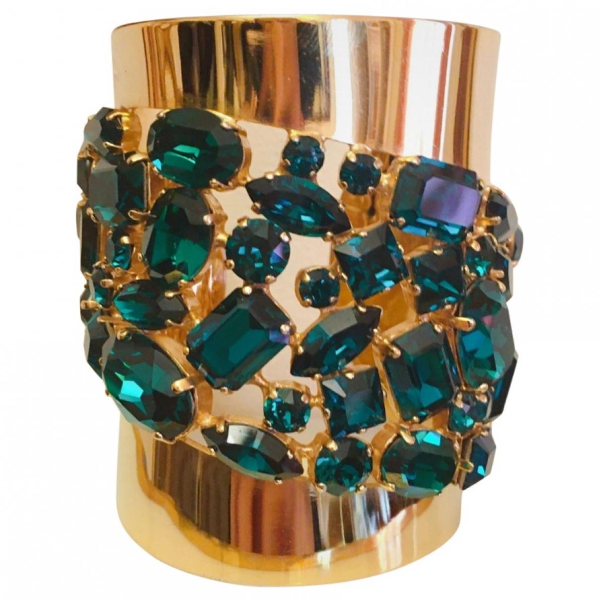Elie Saab - Bracelet   pour femme en acier - dore