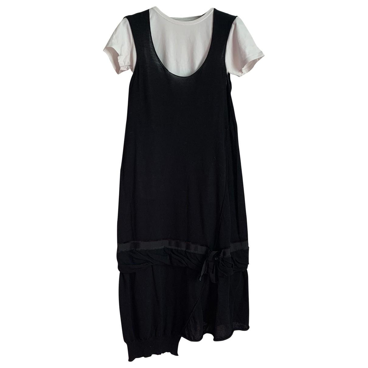 Liviana Conti - Robe   pour femme en coton - noir