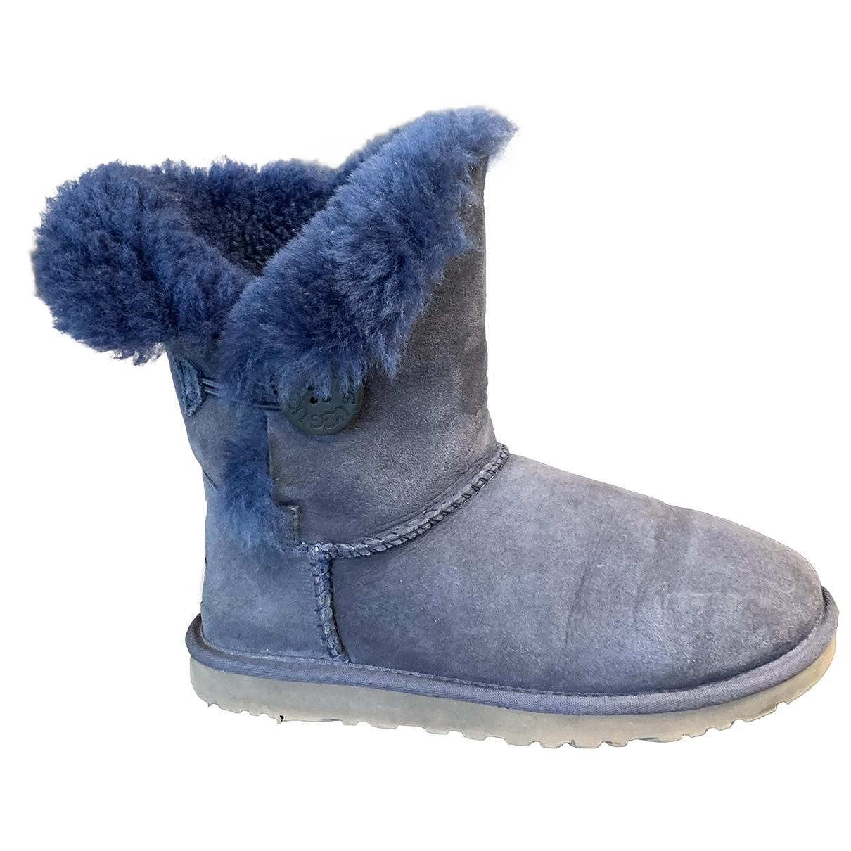 Ugg - Bottes   pour femme en mouton - bleu