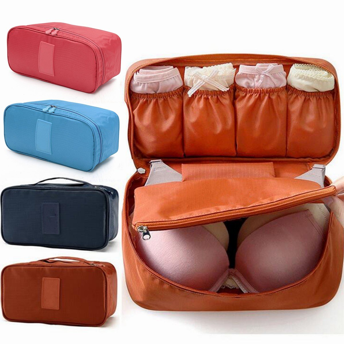 Women Multifunction Portable Waterproof Tidy Storage Bag Must-have Wash Cosmetic Bag