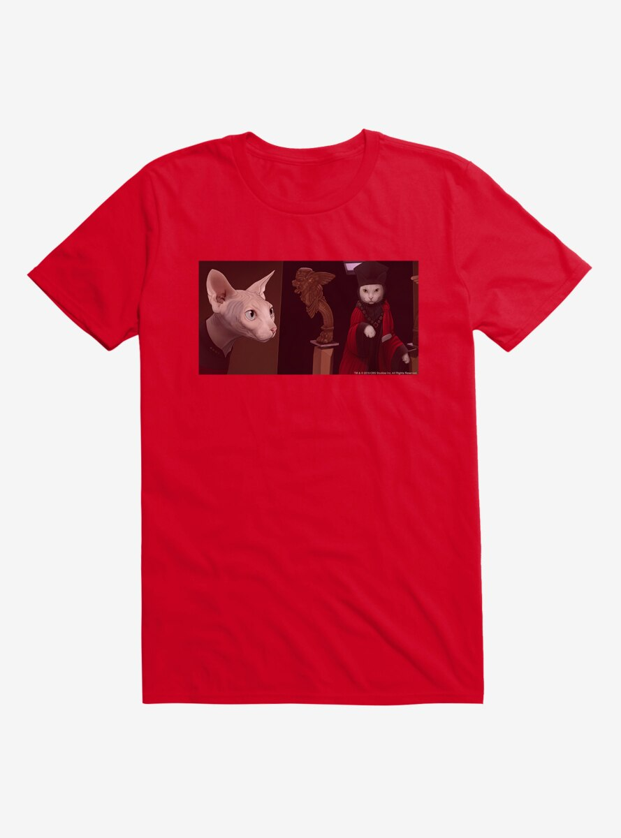 Star Trek The Next Generation Cats Picard Intimidate T-Shirt
