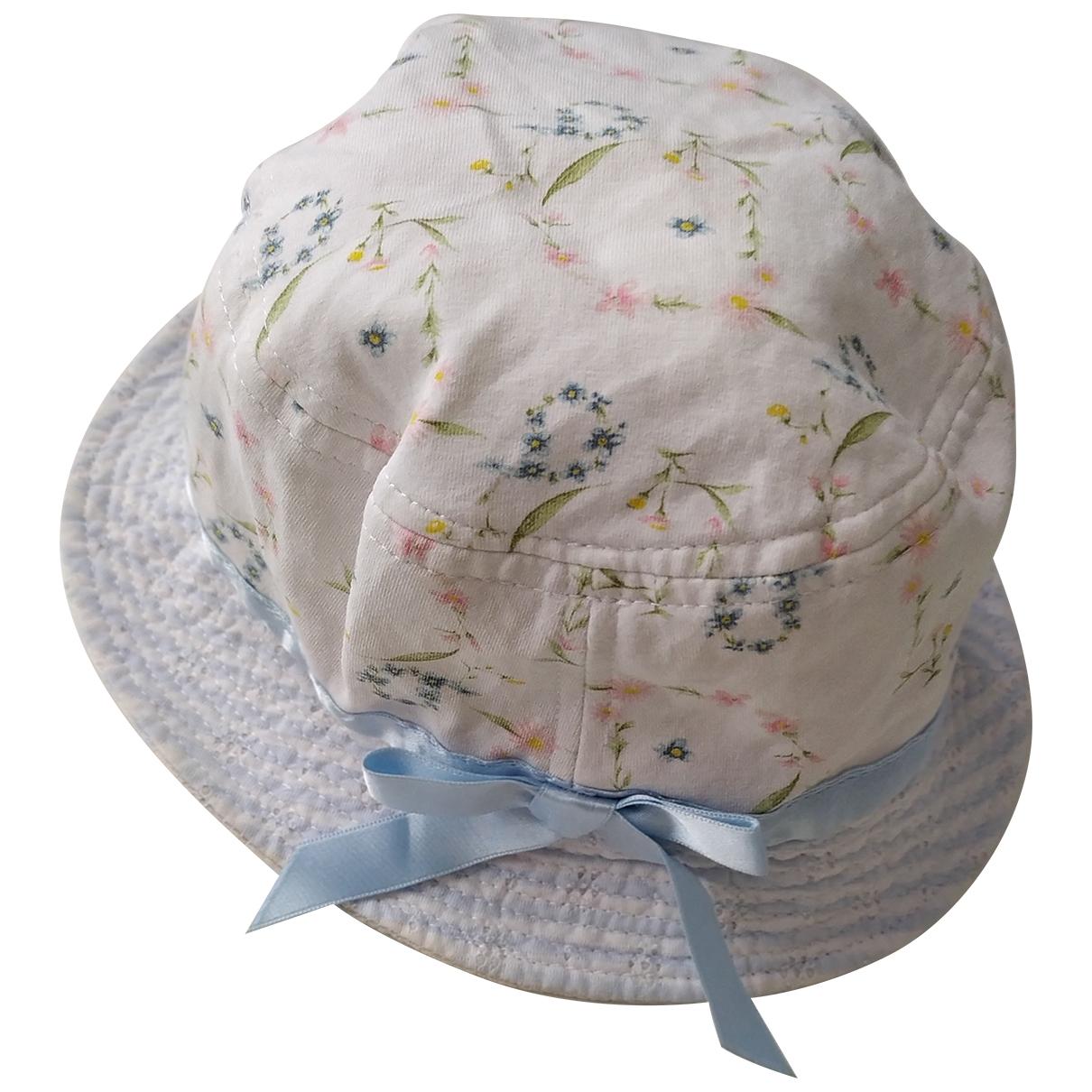 Baby Dior - Chapeaux.Bonnets.Gants   pour enfant en coton - ecru