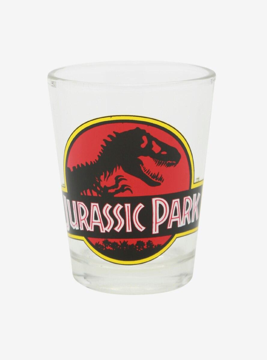 Jurassic Park Logo Mini Glass
