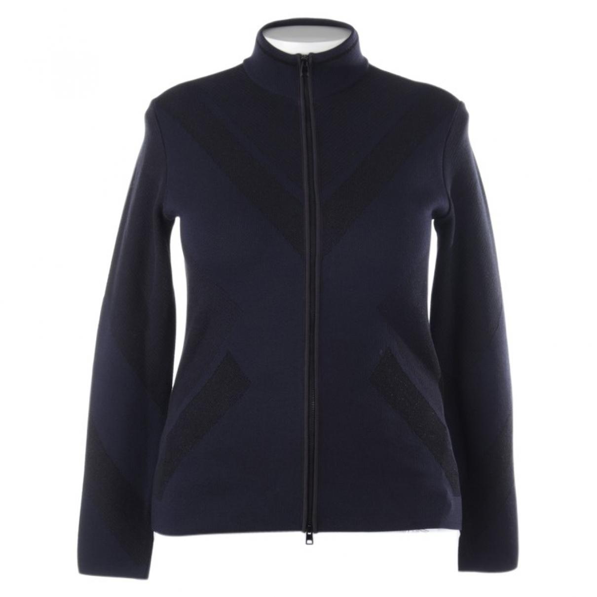 Marc Cain \N Blue Cotton Knitwear for Women 40 FR