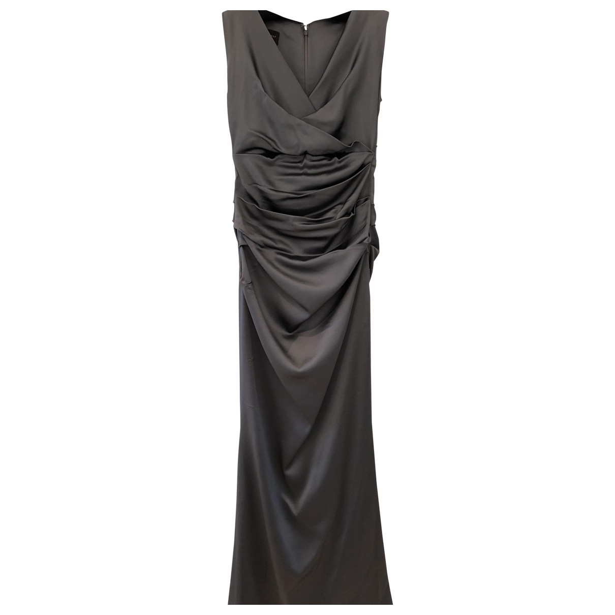 Maxi vestido de Seda Talbot Runhof
