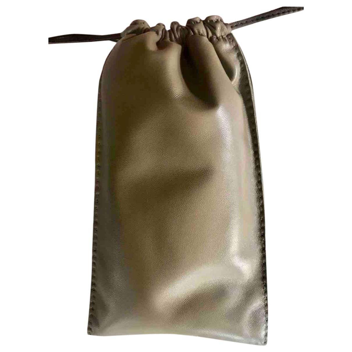 Hermes - Petite maroquinerie   pour femme en cuir - marron