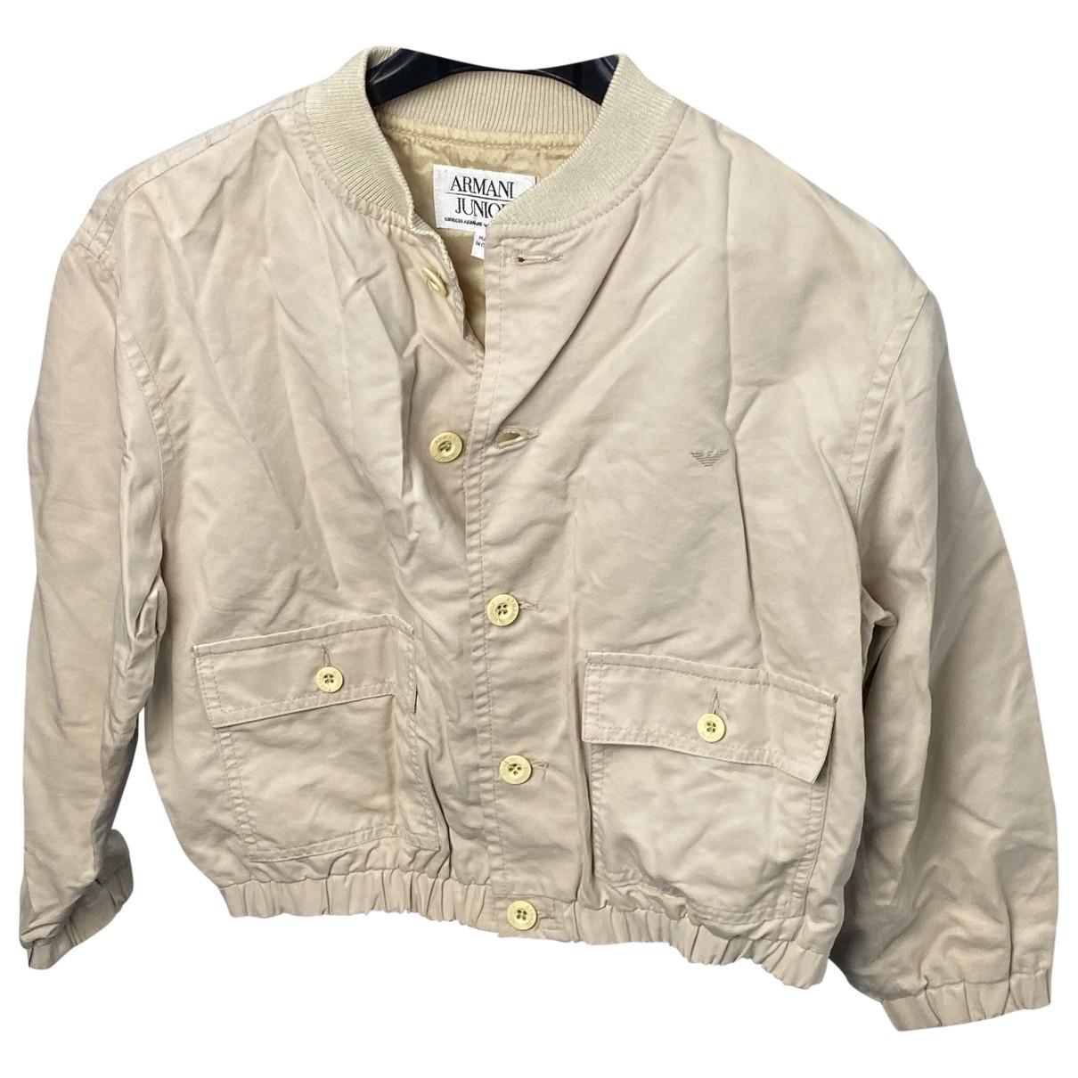 Armani Jean - Blousons.Manteaux   pour enfant en coton - beige