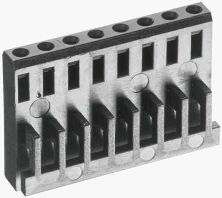 TE Connectivity , AMPMODU MOD IV Female Connector Housing, 2.54mm Pitch, 12 Way, 2 Row (10)