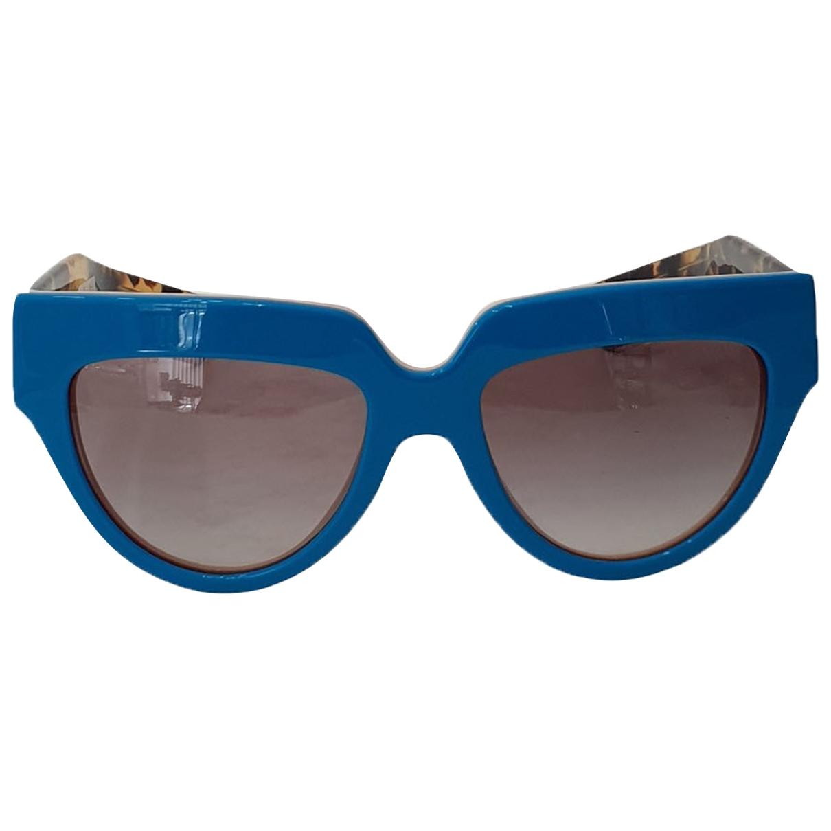 Prada \N Sonnenbrillen in  Blau Kunststoff