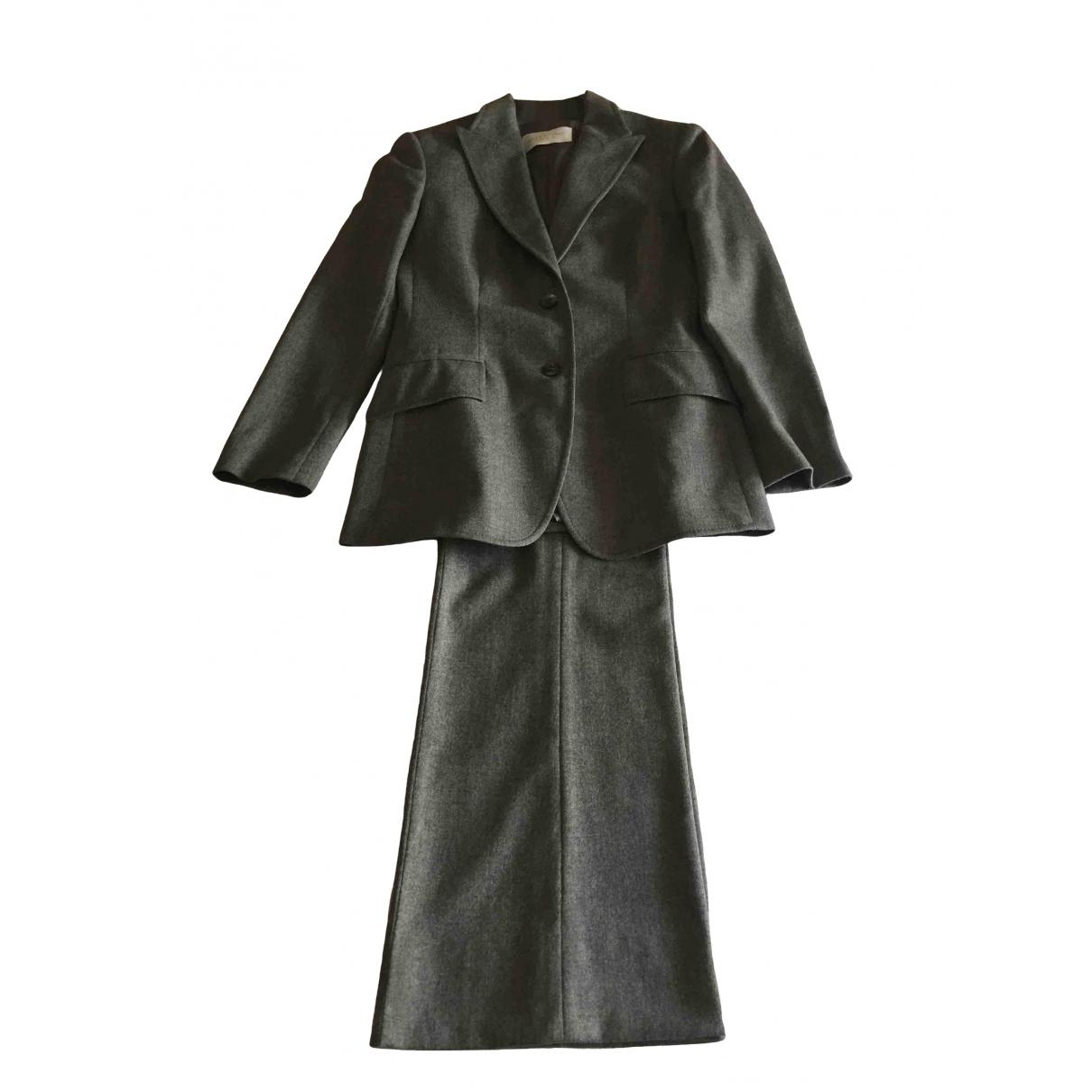 Valentino Garavani \N Grey Wool jacket for Women 40 IT