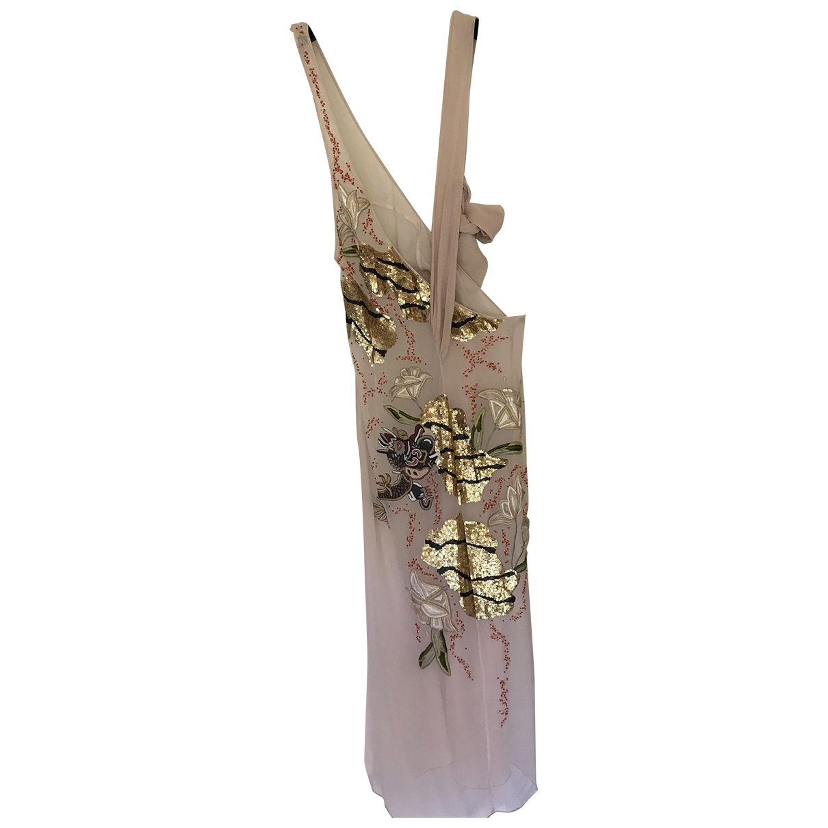 Maxi vestido de Seda Blumarine