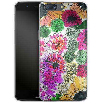 OnePlus 5 Silikon Handyhuelle - Fiore Sunshine von Amy Sia