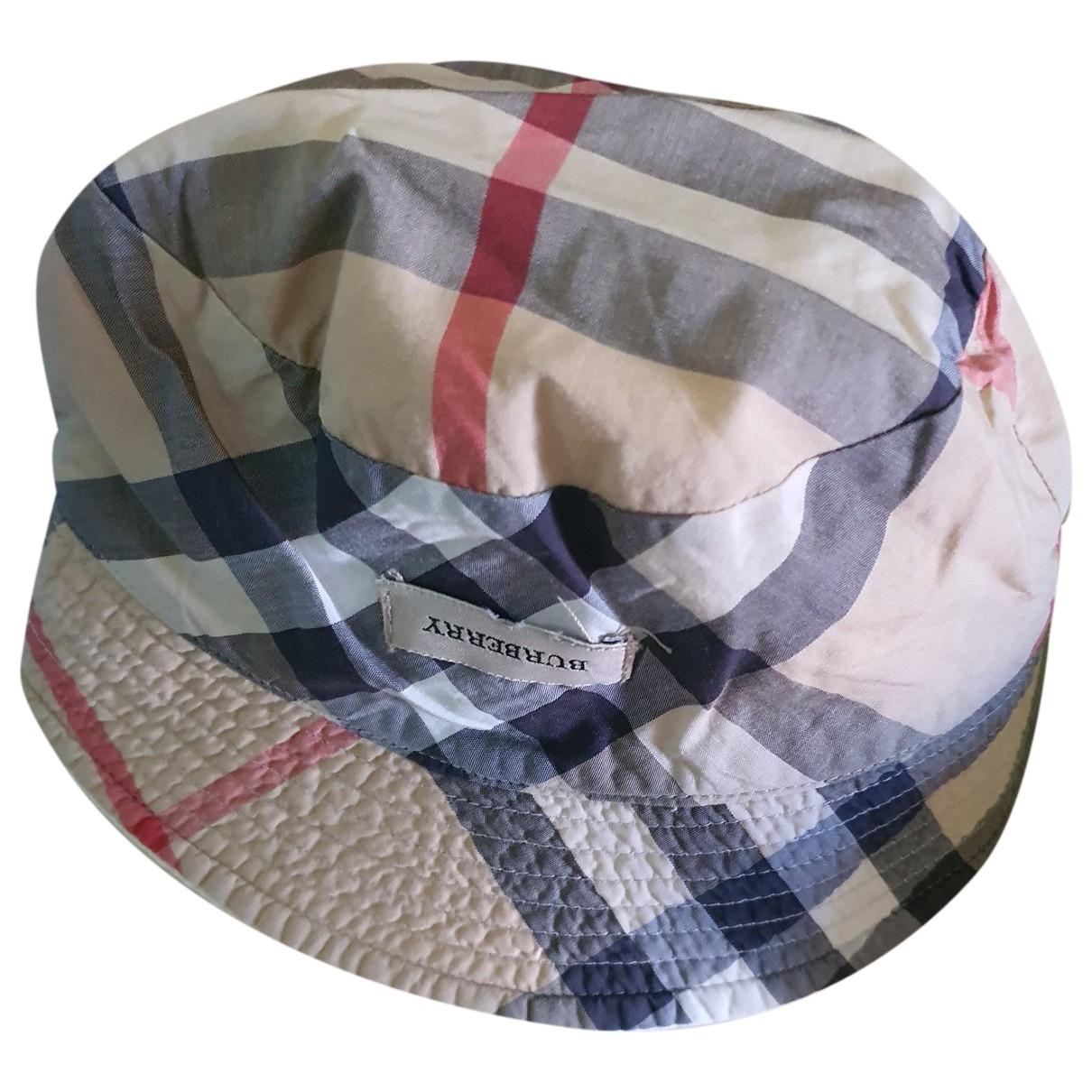 Burberry - Chapeaux.Bonnets.Gants   pour enfant en coton - bleu