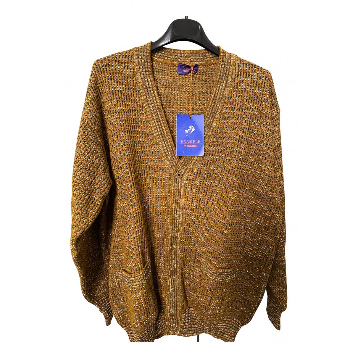 Missoni \N Pullover.Westen.Sweatshirts  in  Beige Baumwolle