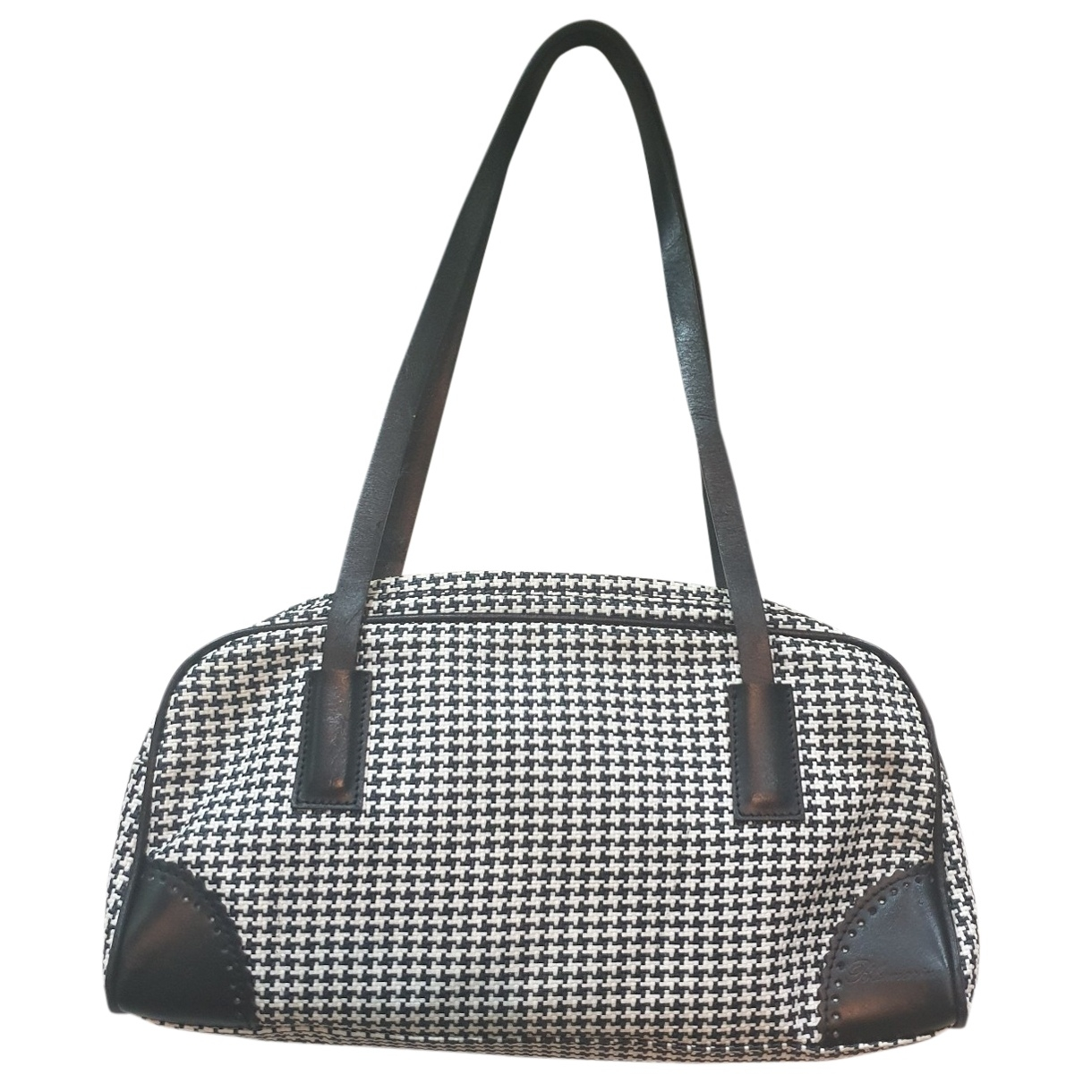 Blumarine \N Handtasche in  Bunt Leinen