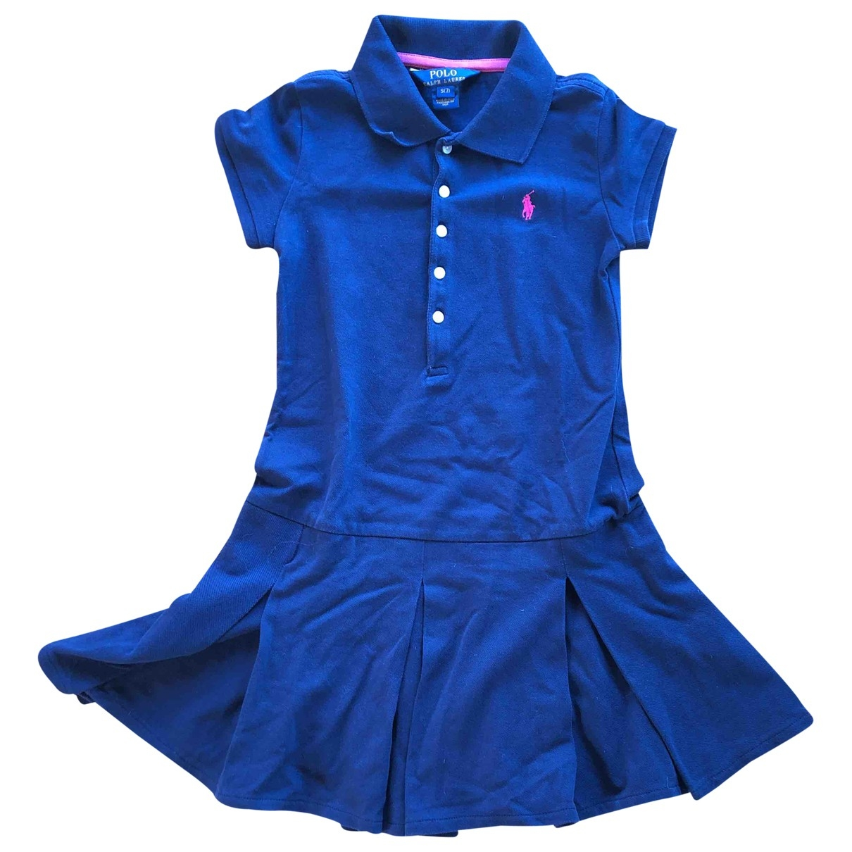 Polo Ralph Lauren \N Navy Cotton dress for Kids 6 years - up to 114cm FR