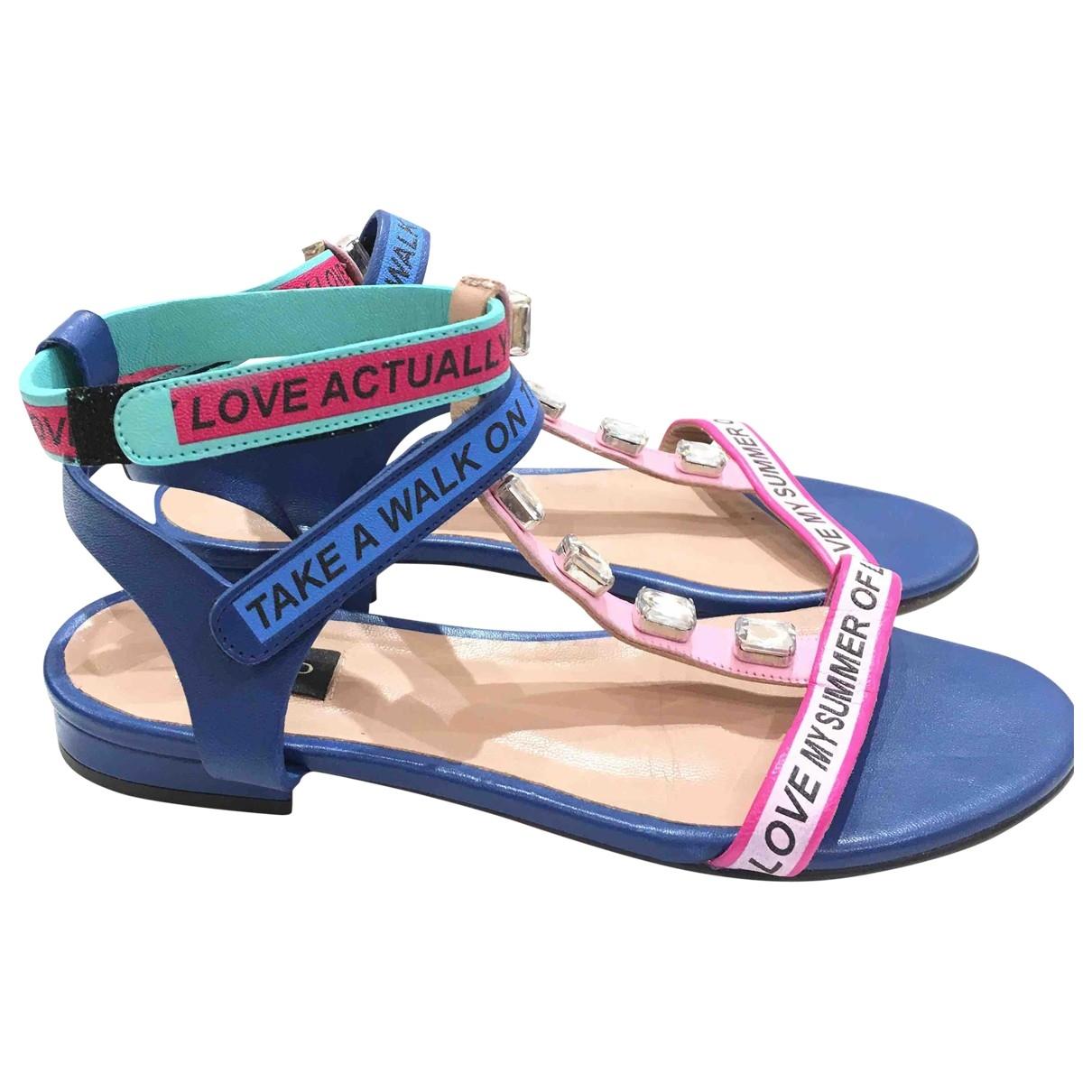 Pinko \N Multicolour Leather Sandals for Women 35 EU