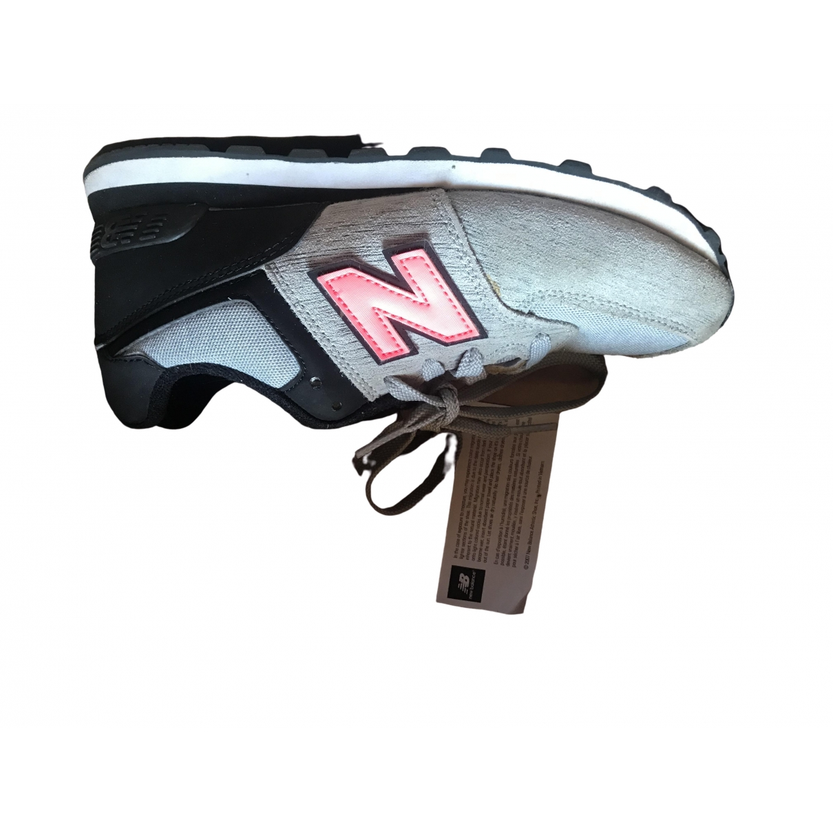 New Balance \N Grey Cloth Trainers for Women 34.5 IT