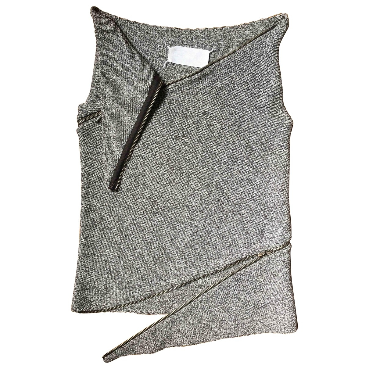 Maison Martin Margiela \N Grey Cotton Knitwear for Women S International