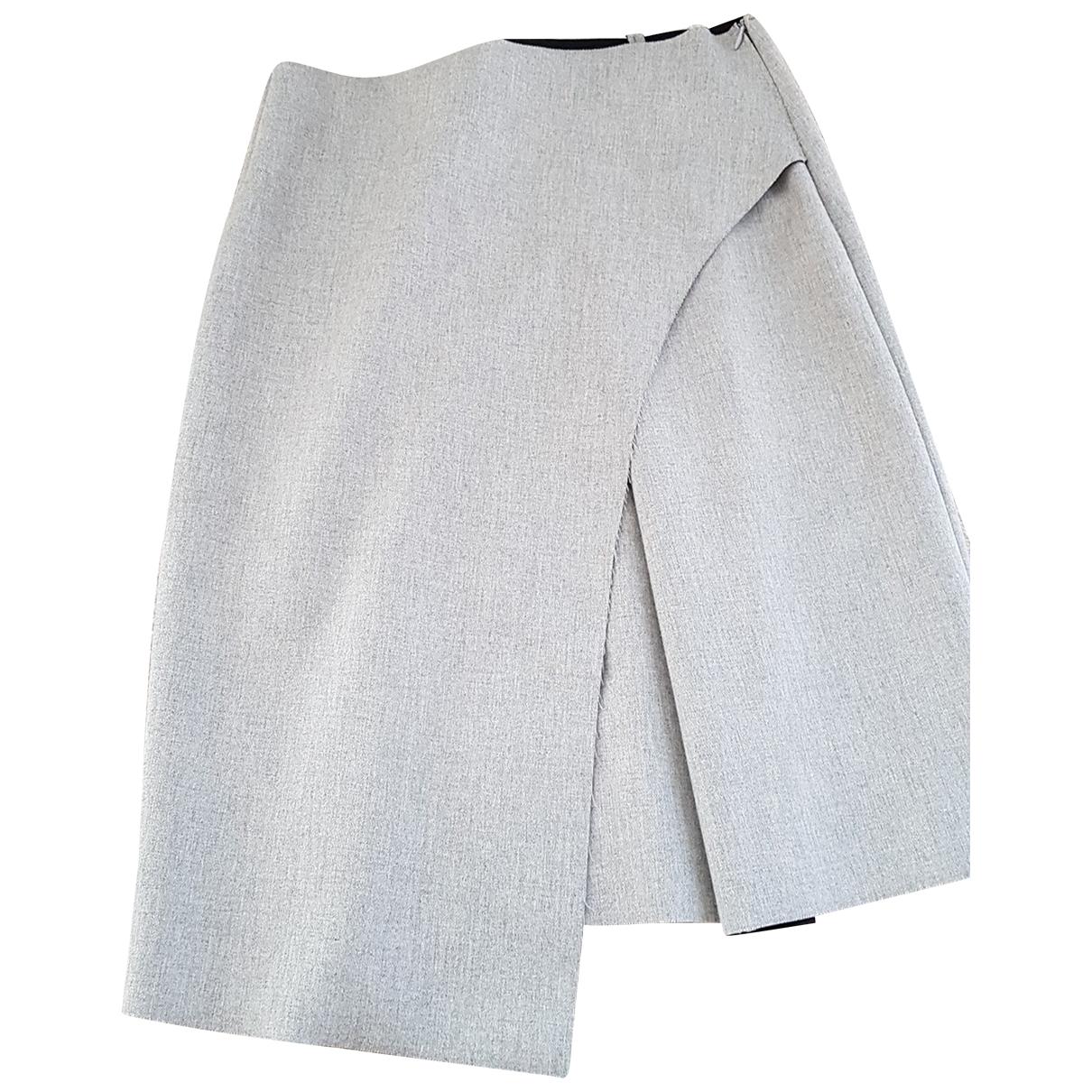 Zara N Grey Wool skirt for Women M International