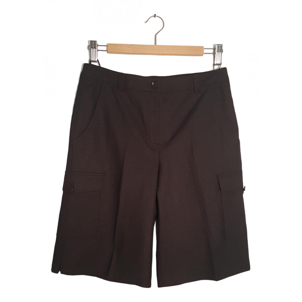 Escada \N Wool Trousers for Women 40 IT
