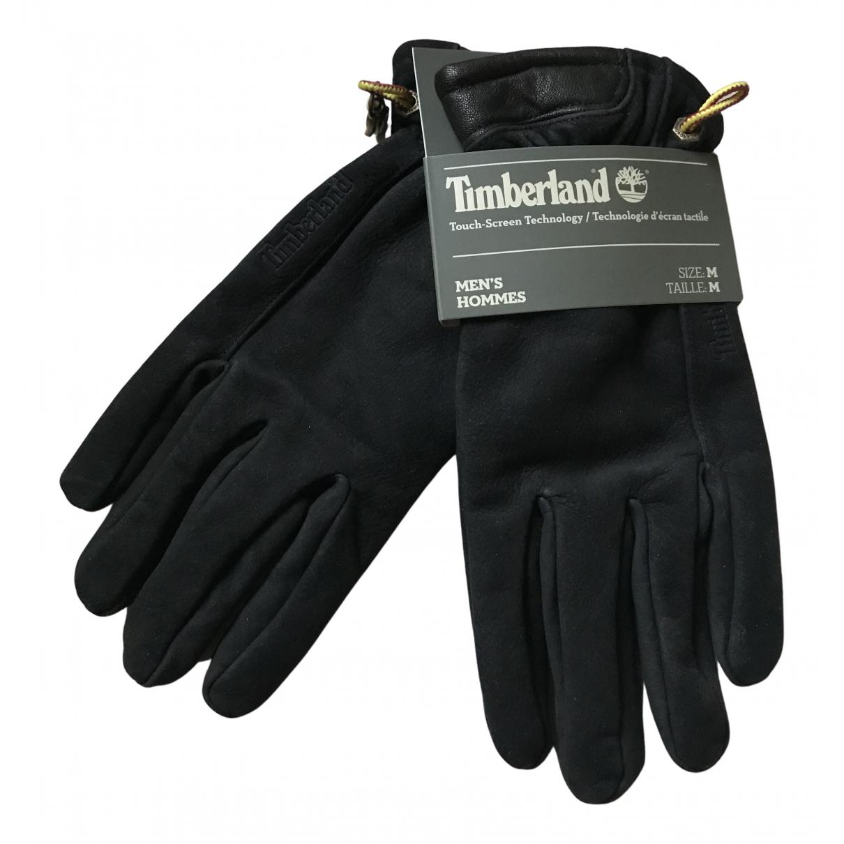 Timberland - Gants   pour homme en cuir - noir