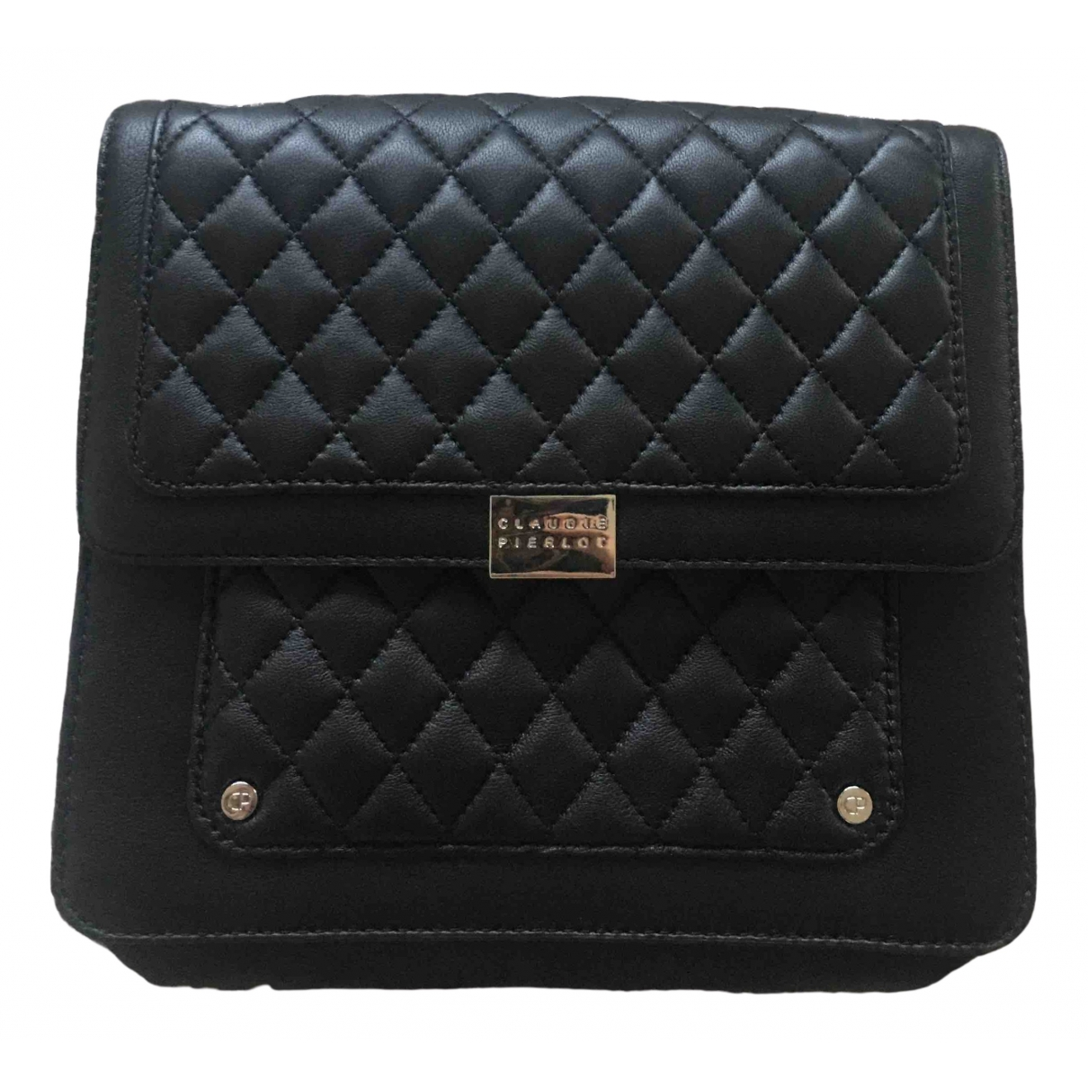 Claudie Pierlot \N Black Leather handbag for Women \N