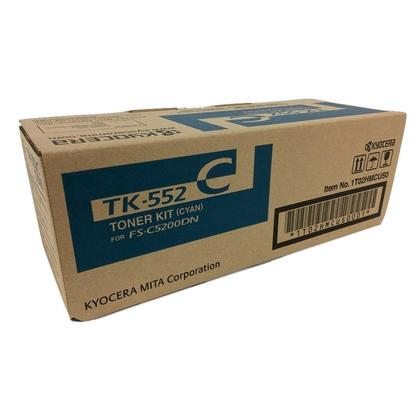 Kyocera-Mita TK-552C cartouche de toner originale cyan pour l'imprimante FS-C5200DN