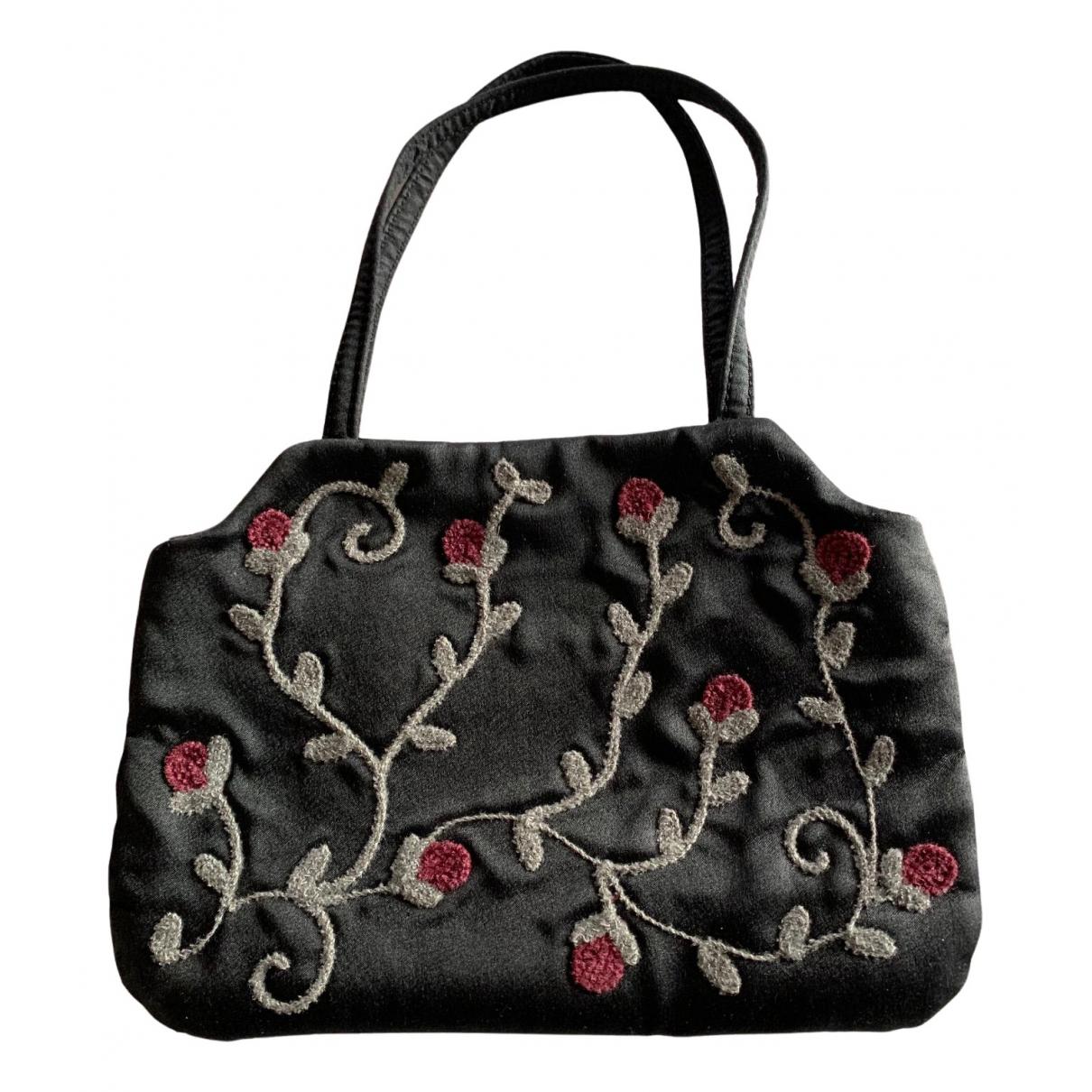 Coccinelle \N Handtasche in  Schwarz Leinen