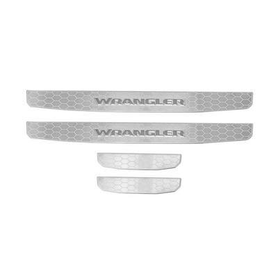 Jeep Entry Guards (Stainless Steel) - 82215396