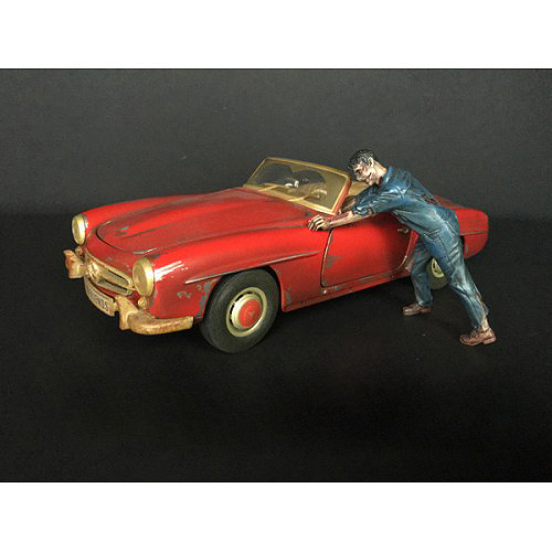 Zombie Mechanic Figurine IV for 1/18 Scale Models by American Diorama