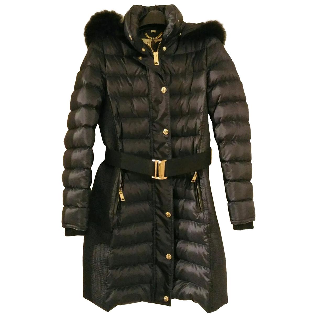 Burberry \N Black Fur coat for Women 40 IT