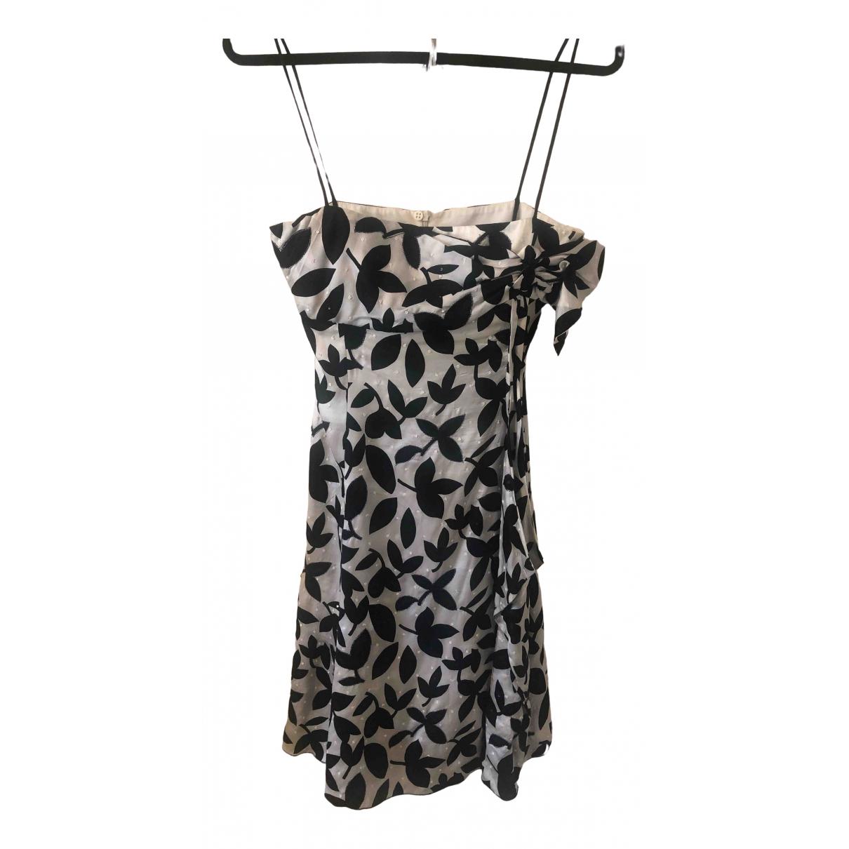 Mini vestido de Seda Emporio Armani